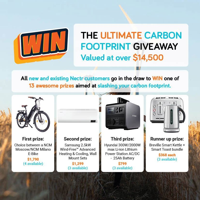 The ultimate carbon footprint giveaway